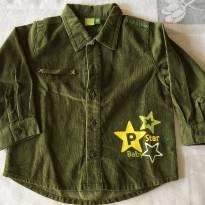 Camisa Verde - tam 9 meses - 9 meses - Pré Natal