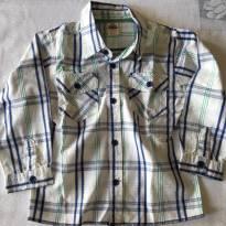 Camisa Zara - tam 12-18 meses - 12 a 18 meses - Zara