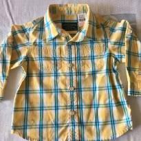 Camisa Zara Xadrez - tam 6-9 meses - 6 a 9 meses - Zara e Zara Baby