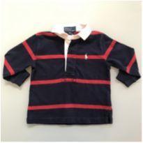Camisa Polo Ralph Lauren Tamanho 9 a 12 meses - 9 a 12 meses - Ralph Lauren