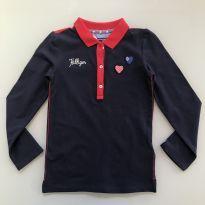 Camisa Polo Tommy Hilfiger Tamanho 6 - 6 anos - Tommy Hilfiger