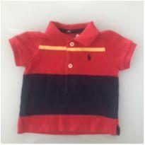 Camisa Polo Ralph Lauren Tamanho 2 meses - 0 a 3 meses - Ralph Lauren