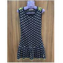 Vestido Azul Estrela Le Lis Petit Tamanho 6 - 6 anos - Le Lis Petit