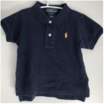 Camisa Polo Azul marinho Ralph Lauren 9 meses - 9 meses - Ralph Lauren