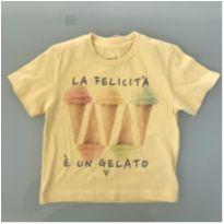 Camiseta Amarela VRK Tamanho 1 - 1 ano - VRK Baby