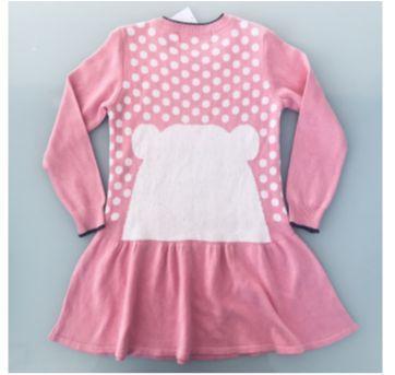 Vestido Rosa Pituchinhu's Tamanho 6 - 6 anos - Pituchinhus