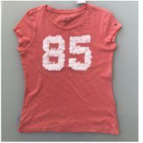 Camiseta Salmão Tommy Hilfiger - 6 anos - Tommy Hilfiger