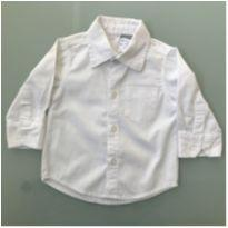 Camisa Branca Paola Bimbi Tamanho 9 a 12 meses - 9 a 12 meses - Paola BimBi
