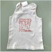 Camiseta Regata Milon Tamanho 6/7 anos - 6 anos - Milon