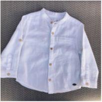 Camisa Masculina Zara Baby Tamanho 12/18 meses - 12 a 18 meses - Zara Baby