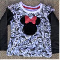 Camiseta Feminina Marca Disney Tamanho 1/2 anos - 12 a 18 meses - Disney