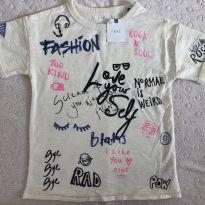 Camiseta excelente cotton importada - 4 anos - Next