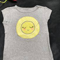 Blusa Carters sol - 4 anos - Carter`s