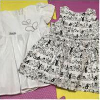 kit vestidos em tecido