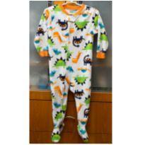 Pijama Carter`s - 24 M - Dinossauro - de fleece - 18 a 24 meses - Carter`s