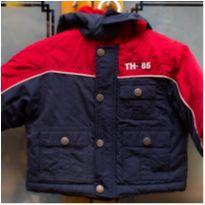 Casaco Tommy Hilfiger - 3 a 6 meses - Azul e vermelho -  Super quente - Lindo! - 3 a 6 meses - Tommy Hilfiger