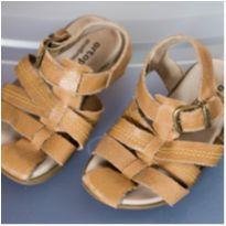Sandália Ortopé - tamanho 21 - Caramelo - Super confortável - 21 - Ortopé