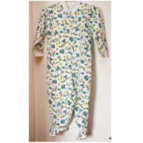 Macacão pijama tipo Tip Top - aviões - tamanho 2T - 2 anos - Sem marca
