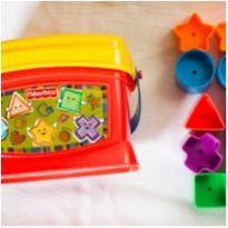 Balde Primeiros Blocos - Fisher Price -  - Fisher Price