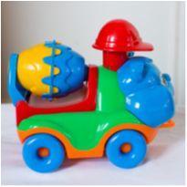 Carrinho Caminhão Betoneira Diver For Baby Construção - Diver Toys -  - Diver Toys