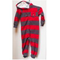 Macacão quentinho Carter's fleece (plush) e capuz - 24 meses - Lindo!! - 2 anos - Carter`s