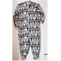 Macacão pijama Tip Top - Panda - tamanho 2T - 2 anos - Tip Top
