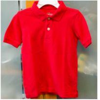 Camisa polo OshKosh vermelho 2 anos - 2 anos - OshKosh