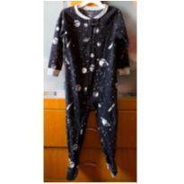Pijama macacão em fleece Carter´s 3 anos - 3 anos - Carter`s