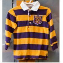 Camisa polo manga longa Carter´s 2 anos - Soccer - 2 anos - Carter`s
