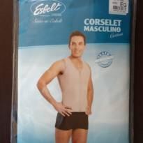 Cinta masculina Esbelt - GG - 48 em diante - Esbelt Lingerie