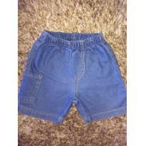 short Jeans molinho - 3 a 6 meses - Nini e Bambini