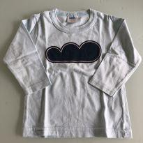 0087. Camiseta manga longa azul calro - Marlan - 6 a 9 meses - Marlan