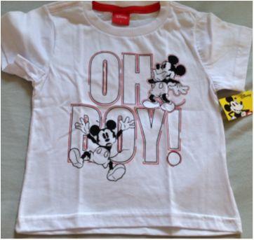 Camisetinha Mikey - 1 ano - Disney