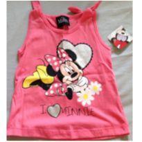 Blusinha Minie com brilho - 1 ano - Disney