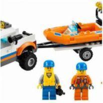 Lego city guarda costeira 5 a 12 anos -  - Lego