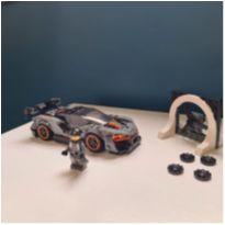 Lego carrinho cinza -  - Lego