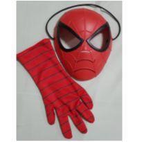 Kit máscara homem-aranha e luva - 4 anos - Hasbro
