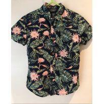 camisa estampada - 4 anos - Primark