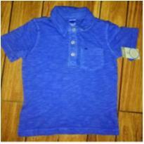 Camisa polo azul Carter`s - 18 a 24 meses - carter`s, baby gap, zara