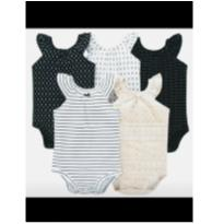 Kit bodys 24 meses carter`s novo etiqueta - 18 a 24 meses - Precious First by Carter`s e carter`s, baby gap, zara