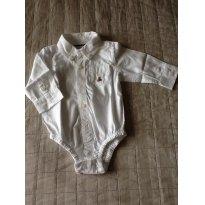 Camisa Body BABY GAP - 3 a 6 meses - Baby Gap