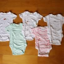 BODY MG CURTA ZARA - 5 UNIDADES - 3 a 6 meses - Zara Baby