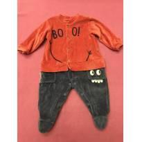Macacãozinho Fofooo - 0 a 3 meses - Keko Baby