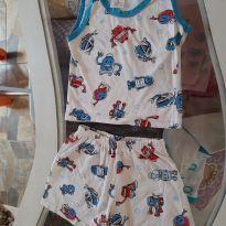 Pijama infantil - 2 anos - Sem marca