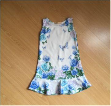 Vestido Floral com Strass - Arte Menor - 2 anos - Arte Menor