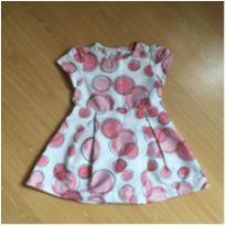 Vestido Estampado com botões nas costas - Marca 1 + 1 - 2 anos - 1+1