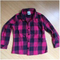 Camisa Xadrez - PUC - 4 anos - PUC