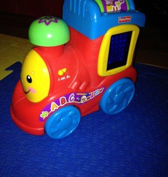 Trem do alfabeto aprender e brincar Fischer Price - Sem faixa etaria - Fisher Price