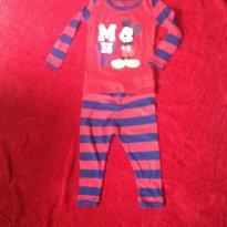Pijama Mickey marca Disney Store (original importado) 18-24 meses - 18 meses - Disney