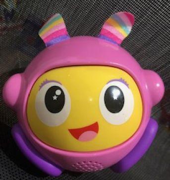 Fisher Price Bola Animada Beatbo Rosa Mattel - Sem faixa etaria - Fisher Price